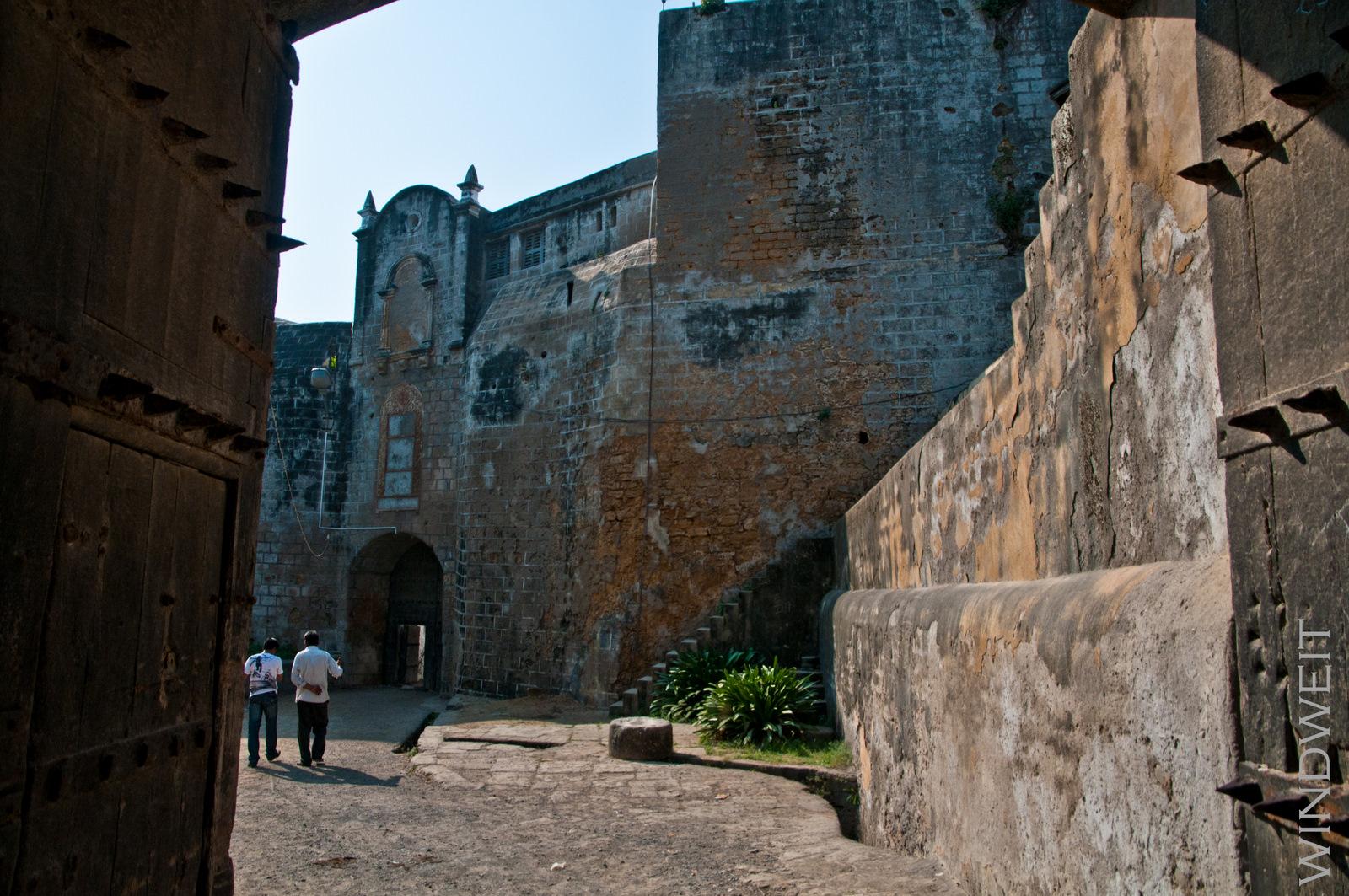 Im Inneren des portugiesischen Forts