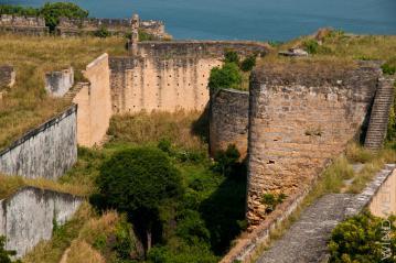 Im Inneren des Forts