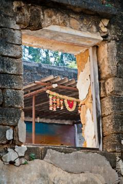 Hinduistische Gebetsstätte im Fort