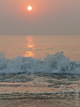 Sonnenaufgang in Diu